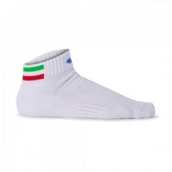 SOCKS FED. TENNIS ITALY WHITE WOMAN
