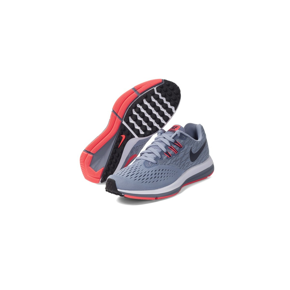 Zapatilla mujer nike zoom winflo 4 ru 898485 002 grises