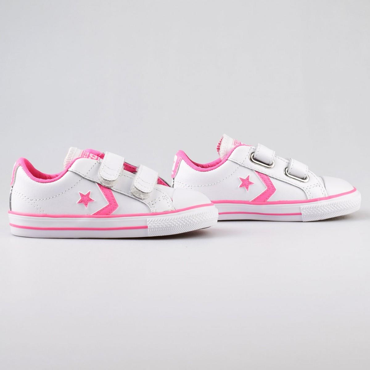 tenis converse rosas niña