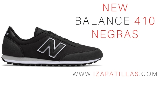 Comprar New balance 410 Negras