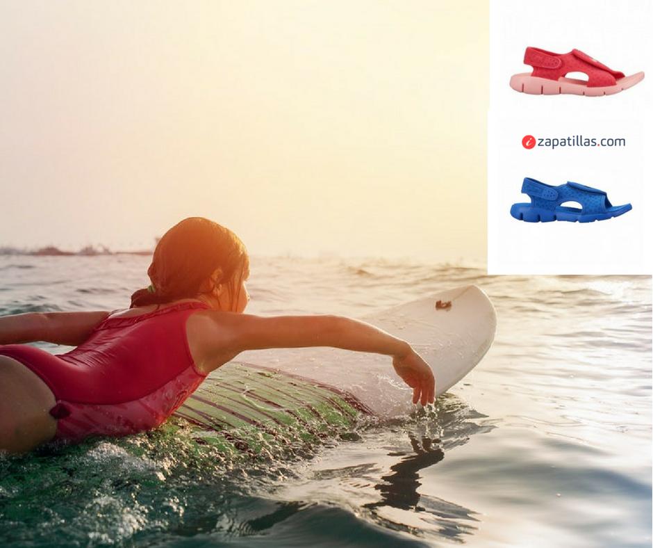 amanecer Patrocinar Labe  Sandalias de agua para niño y niña como alternativa a las cangrejeras de  playa