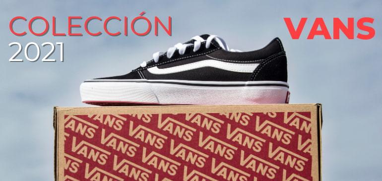 Colección zapatillas vans 2021