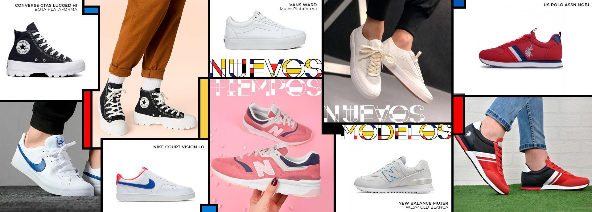 Nuevos modelos de zapatillas