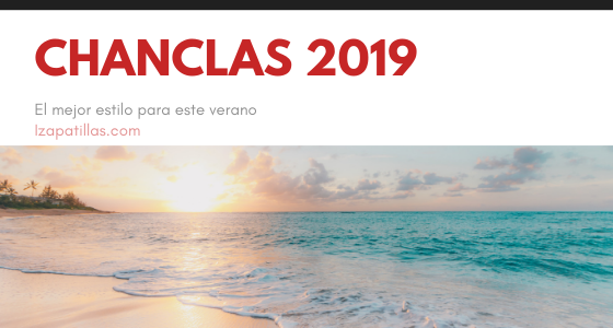 Chanclas Verano 2019